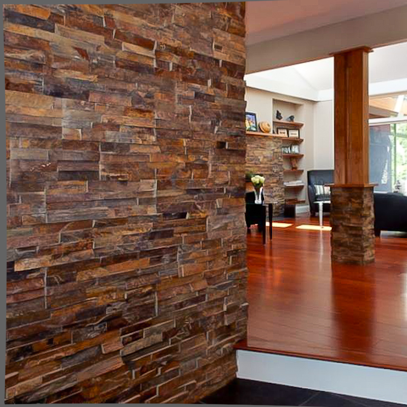 Interior Stone Wall Kitchen: Living Room Designs With Natural Stone Veneer - Stonetek Natural Stone
