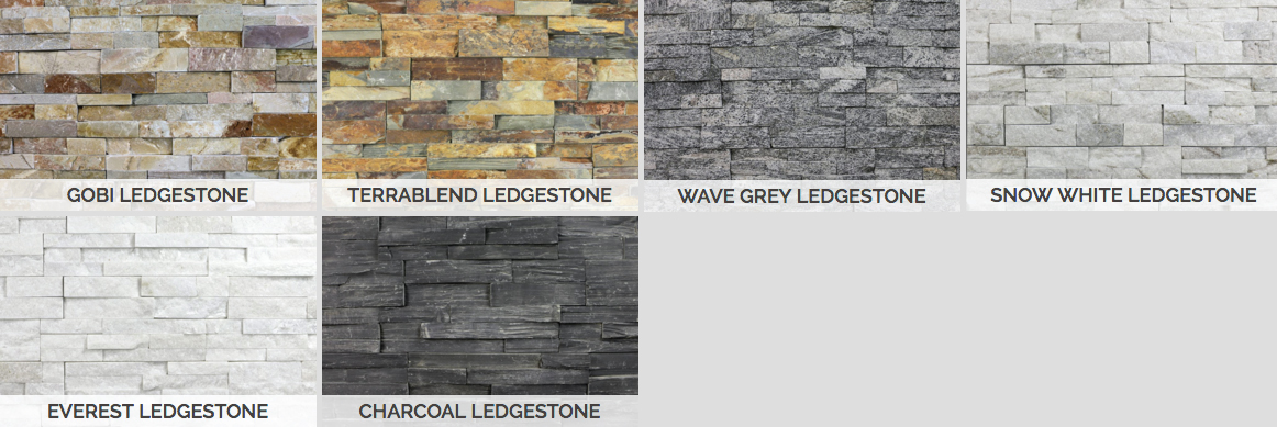 STACKED STONE WALL PANELS